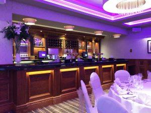 hotel bar area refurb
