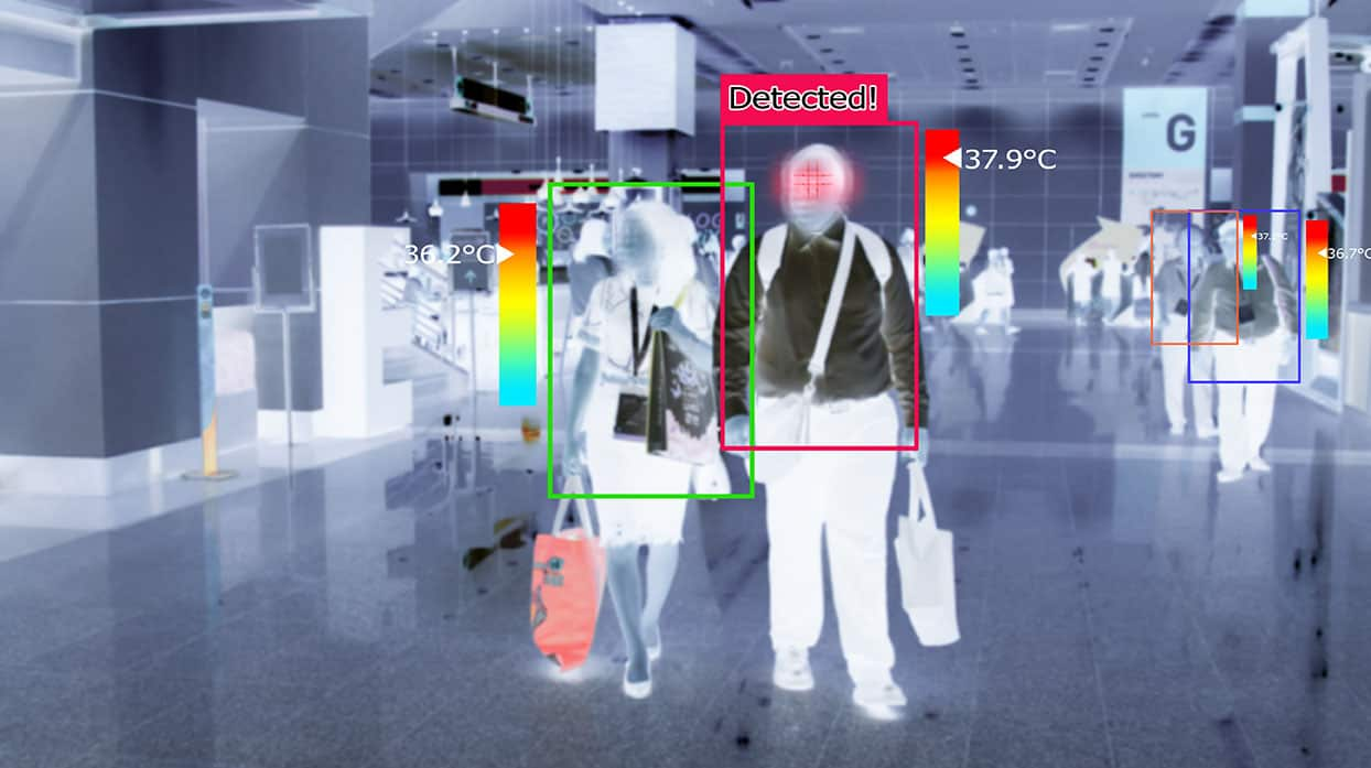 body temperature-thermal camera