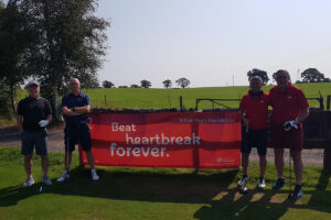 british heart foundation charity golf event