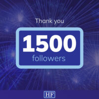 1500 followers on Linkedin